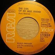 7'' - Elvis Presley - The Girl Of My Best Friend / A Mess Of Blues