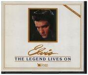 CD-Box - Elvis Presley - The Legend Lives On - 5 CDs in 2 Box sets