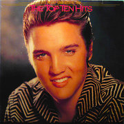 Double LP - Elvis Presley - The Top Ten Hits - W/ POSTER