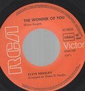 7inch Vinyl Single - Elvis Presley - The Wonder Of You - Picture Sleeve