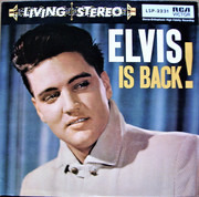 LP - Elvis Presley With The Jordanaires - Elvis Is Back!