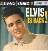 LP - Elvis Presley With The Jordanaires - Elvis Is Back! - LIVING STEREO