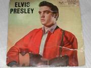 7inch Vinyl Single - Elvis Presley with The Jordanaires - Elvis Presley - 4 Prong Centre