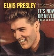 7inch Vinyl Single - Elvis Presley With The Jordanaires - It's Now Or Never - Picture Sleeve