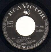 7inch Vinyl Single - Elvis Presley With The Jordanaires - O Sole Mio - V3 PRESS
