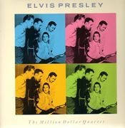 LP - Elvis Presley & Carl Perkins & Jerry Lee Lewis & Johnny Cash - The Million Dollar Quartet
