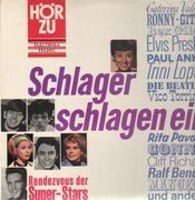 LP - Elvis Presley, The Beatles, Caterina Valente - Schlager Schlagen Ein. Rendezvouz Der Super-Stars