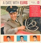 LP - Elvis Presley - A Date With Elvis - german black RCA mono