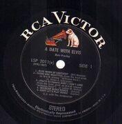 LP - Elvis Presley - A Date With Elvis - US STEREO