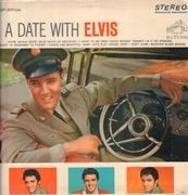 LP - Elvis Presley - A Date With Elvis - US STEREO