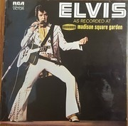 LP - Elvis Presley - As Recorded At Madison Square Garden