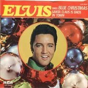 7inch Vinyl Single - Elvis Presley - Blue Christmas - Original Picture Sleeve