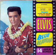 LP - Elvis Presley - Blue Hawaii