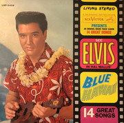 LP - Elvis Presley - Blue Hawaii - Indianapolis Pressing