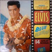 LP - Elvis Presley - Blue Hawaii - Hollywood Pressing
