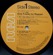 LP - Elvis Presley - By Request