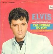 LP - Elvis Presley - California Holiday