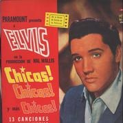 LP - Elvis Presley - Chicas chicas  y mas chicas !!!!! - OG Argentinean Pressing