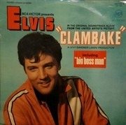 LP - Elvis Presley - Clambake - France Living Stereo