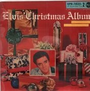 7inch Vinyl Single - Elvis Presley - Elvis' Christmas Album - ORIGINAL GERMAN EPB 2
