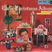 7inch Vinyl Single - Elvis Presley - Elvis' Christmas Album - ORIGINAL GERMAN