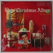 LP - Elvis Presley - Elvis' Christmas Album