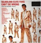 LP - Elvis Presley - 50.000.000 Elvis Fans Can't Be Wrong (Elvis' Gold Records Volume 2) - 180g