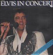 Double LP - Elvis Presley - Elvis In Concert - Gatefold