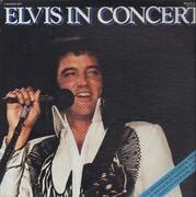 Double LP - Elvis Presley - Elvis In Concert - Incl. Booklet