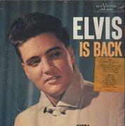 LP - Elvis Presley - Elvis Is Back! - LPM 2231 USA MONO WITH STICKER