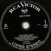 Double CD - Elvis Presley - Elvis Is Back! - Gatefold 7' digipak