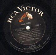LP - Elvis Presley - Elvis Presley - ORIGINAL 1st STEREO