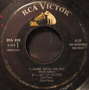 7inch Vinyl Single - Elvis Presley - Elvis Presley - EP