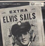 7inch Vinyl Single - Elvis Presley - Elvis Sails - OG New Zealand Pressing