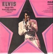 LP - Elvis Presley - Elvis Sings Hits From His Movies Volume 1