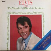 LP - Elvis Presley - Elvis Sings The Wonderful World Of Christmas