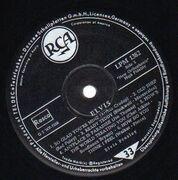 LP - Elvis Presley - Elvis - GERMANY RCA lightning bolt