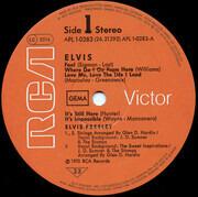 LP - Elvis Presley - Elvis - LABEL CODE