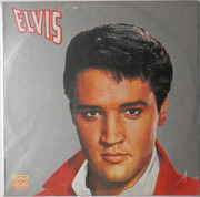 LP - Elvis Presley - Elvis - Purple Labels