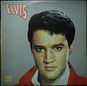LP - Elvis Presley - Elvis - Red label