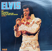 LP - Elvis Presley - Elvis - Hollywood Pressing