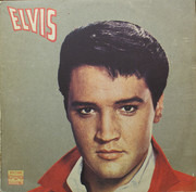 LP - Elvis Presley - Elvis - Blue, Russian