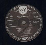 LP - Elvis Presley - For LP Fans Only