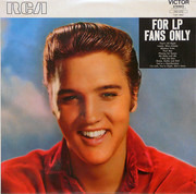 LP - Elvis Presley - For LP Fans Only