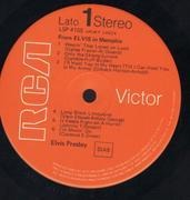 LP - Elvis Presley - From Elvis in Memphis - Rare FLAT Label