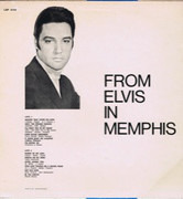 LP - Elvis Presley - From Elvis in Memphis