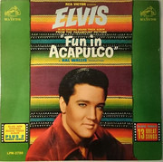 LP - Elvis Presley - Fun In Acapulco - US MONO