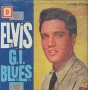LP - Elvis Presley - G.I. Blues - Matrix Variation