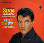 LP - Elvis Presley - Girl Happy - ORIGINAL GERMAN STEREO