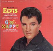 LP - Elvis Presley - Girl Happy - Rockaway Pressing